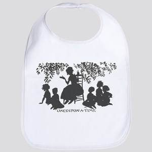 Once Upon a Time silhouette Bib