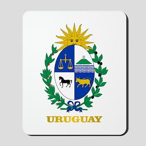 Uruguay COA Mousepad