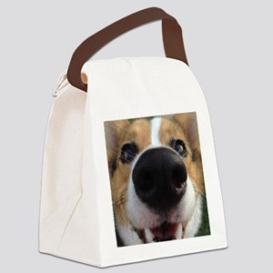 Pembroke Welsh Corgi Canvas Lunch Bag