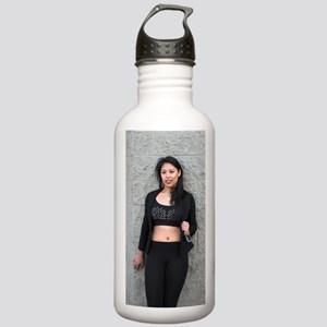 Portrait of a Filipino Stainless Water Bottle 1.0L