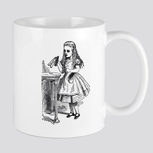 Drink Me Alice in Wonderland vintage art Mug