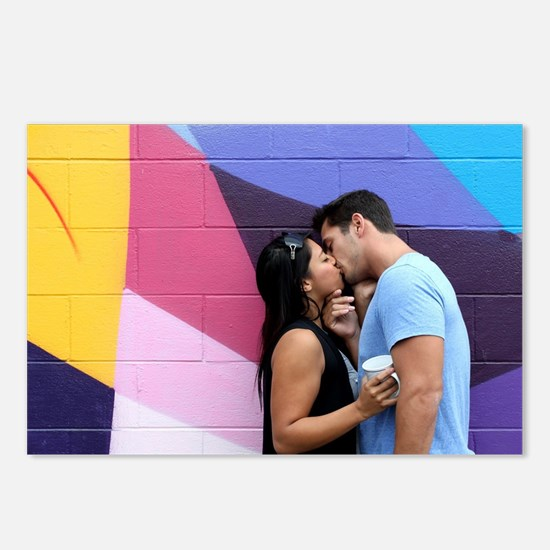 Kissing Postcards (Package of 8)