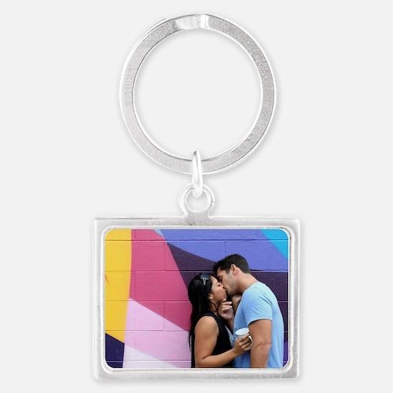 Kissing Landscape Keychain