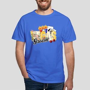 Vegas Wedding Groom Dark T-Shirt