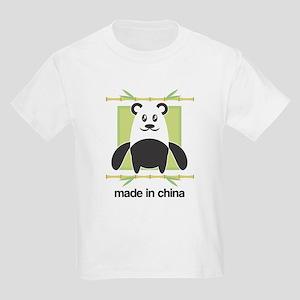 Made in China Panda Kids T-Shirt