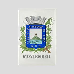 Montevideo COA Rectangle Magnet