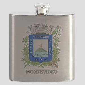 Montevideo COA Flask