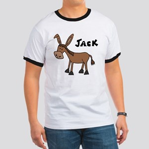 Funny Donkey Named Jack Ringer T