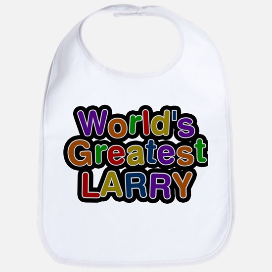 Worlds Greatest Larry Bib