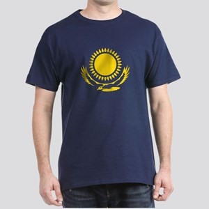 Kazakhstan Emblem T-Shirt (Blue)