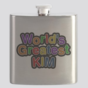 Worlds Greatest Kim Flask
