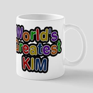 Worlds Greatest Kim Mug