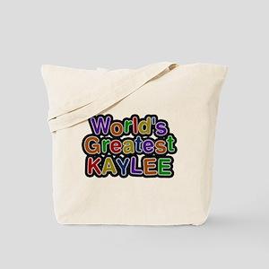 Worlds Greatest Kaylee Tote Bag
