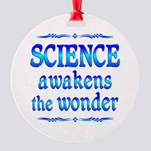 Science Awakens Round Ornament