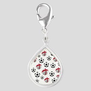 England Soccer Balls Charms