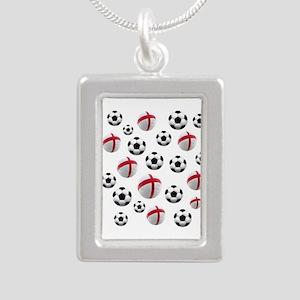 England Soccer Balls Necklaces