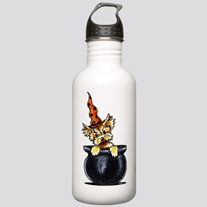 Yorkie Witch Water Bottle