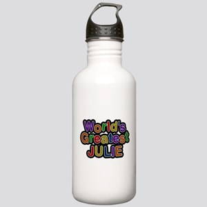 Worlds Greatest Julie Water Bottle