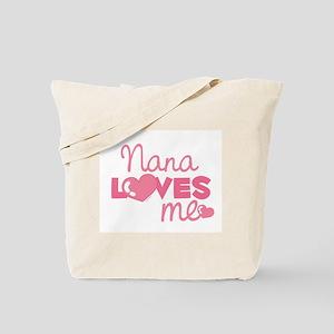 Nana Love Me (pink) Tote Bag