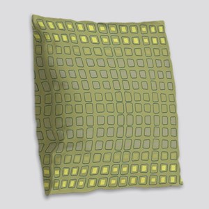 Yellowmeister Burlap Throw Pillow