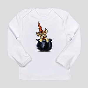 Yorkie Witch Long Sleeve T-Shirt