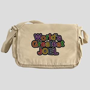 Worlds Greatest Joel Messenger Bag