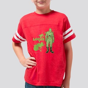 Retro Splash - Locus_fLATpsd Youth Football Shirt