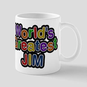 Worlds Greatest Jim Mug