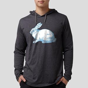 white-rabbit Mens Hooded Shirt