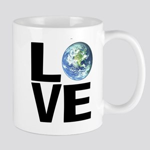 I Love the World Small Mugs