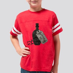 drink-me-bottle_worn Youth Football Shirt