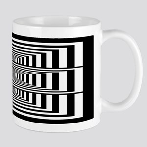 Optical Illusion Rectangles Mug