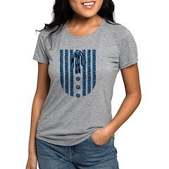 lace-front_bl Womens Tri-blend T-Shirt