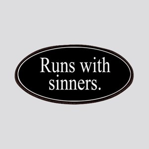 Runs With Sinners Patches