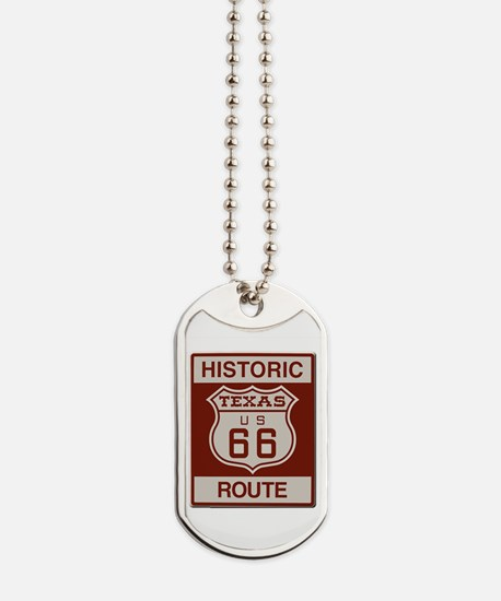 Texas Historic Route 66 Dog Tags