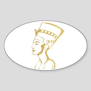 Nefertiti Egyptian Queen Sticker