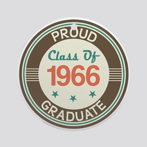 Vintage Class of 1966 Ornament (Round)