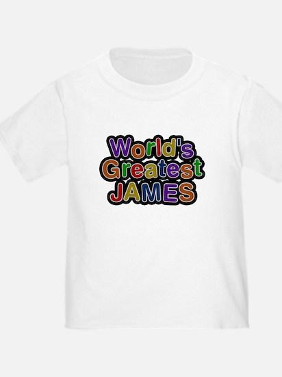 Worlds Greatest James T-Shirt