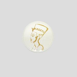 Nefertiti Egyptian Queen Mini Button