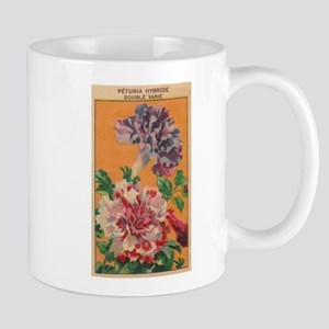 Vintage French Flowers Seed Pack Mug