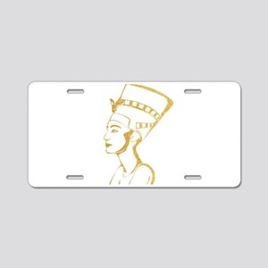 Nefertiti Egyptian Queen Aluminum License Plate