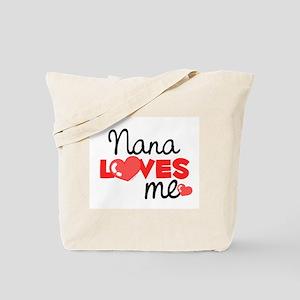 Nana Love Me (red) Tote Bag