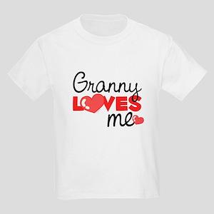 Granny Love Me (red) Kids T-Shirt