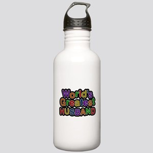 Worlds Greatest Husband Water Bottle
