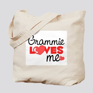 Grammie Love Me (red) Tote Bag