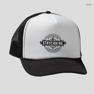 Halloween Poison Label Strychnine Kids Trucker hat