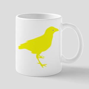 Yellow Raven Small Mug