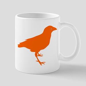 Orange Raven Small Mug