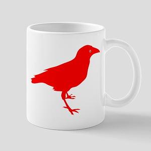 Red Raven Small Mug