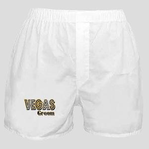 Vegas Groom Boxer Shorts